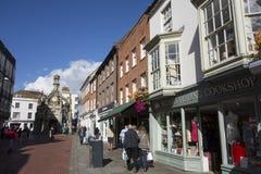 Południa St Chichester centrum miasta Zdjęcie Royalty Free