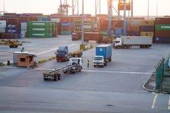 Południe port Fotografia Royalty Free