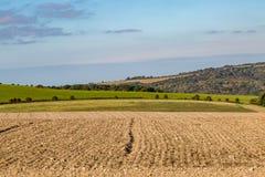 Południe Zestrzela jesiennego krajobraz zdjęcia stock