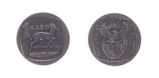Południowa Afryka Jeden skraj moneta Obrazy Royalty Free