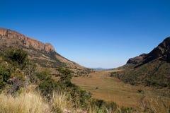 Południowa Afryka krajobraz Zdjęcia Royalty Free