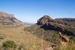 Południowa Afryka krajobraz Zdjęcia Stock