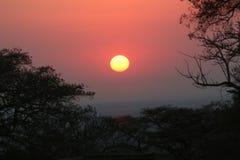Południowa Afryka krajobrazu zmierzch 1 Zdjęcie Royalty Free
