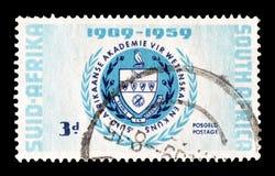 Po?udniowa Afryka na znaczkach pocztowych obraz royalty free
