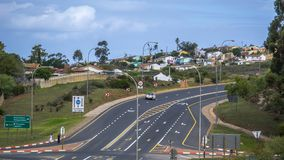 Południowa Afryka ogródu aleja Zdjęcie Stock