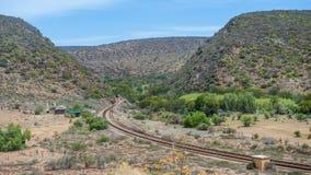 Południowa Afryka ogródu aleja Obraz Royalty Free