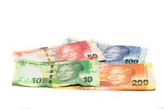Południowa Afryka waluta Obrazy Stock