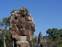 Południowa brama Angkor Thom, Angkor Fotografia Royalty Free