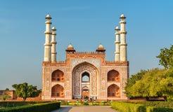 Południowa brama Sikandra fort w Agra, Uttar - Pradesh, India Obrazy Royalty Free