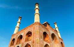 Południowa brama Sikandra fort w Agra, Uttar - Pradesh, India Obraz Stock