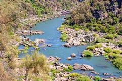 Południowa Esk rzeka - Launceston Zdjęcie Royalty Free