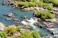 Południowa Esk rzeka - Launceston Zdjęcie Stock