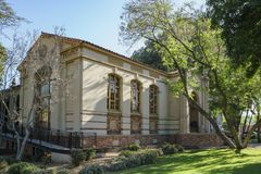 Południowa Pasadena biblioteka publiczna Obrazy Stock