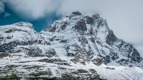 Południowa twarz Matterhorn Fotografia Stock