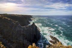 Południowo-zachodni Alentejo i Vicentine Brzegowy Naturalny park Obrazy Royalty Free
