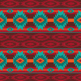 Południowo-zachodni navajo bezszwowy wzór Fotografia Royalty Free