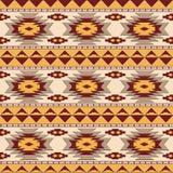 Południowo-zachodni navajo bezszwowy wzór Obrazy Royalty Free