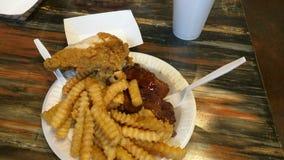 Południowy BBQ Zdjęcia Stock