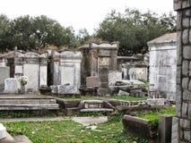 Południowy cmentarz Zdjęcia Royalty Free