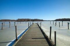 Południowy Finlandia, wczesna wiosna Fotografia Stock