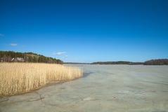 Południowy Finlandia, wczesna wiosna Zdjęcia Royalty Free