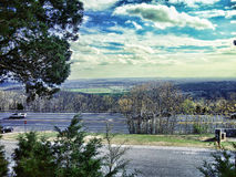 Południowy Huntsville od Monte Santo góry Obraz Royalty Free
