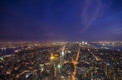 Południowy Manhattan Obrazy Royalty Free