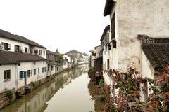 Południowy miasteczko w Suzhou Chiny Obrazy Royalty Free