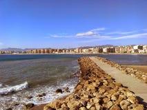 Południowy morze Spain Obrazy Royalty Free