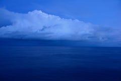 Południowy Pacyficzny ocean fotografia stock