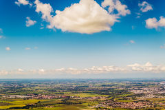 The Po valley in Italy Royalty Free Stock Photography