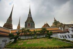 Po Wat ναός στη Μπανγκόκ, Ασία Στοκ Φωτογραφία