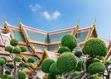 Po Wat στέγες ναών Στοκ Εικόνες