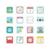 Pożytecznie ikona set Fotografia Stock