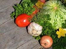 Pożytecznie warzywa dl twój projekt Fotografia Stock