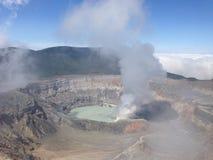 Poa Volcano Costa Rica Fotografie Stock