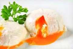 Poached яичка Стоковое Изображение RF