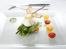 poached яичко Стоковая Фотография
