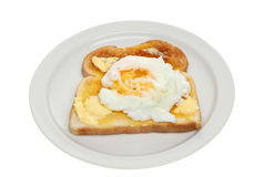 Poached egg Stock Photos