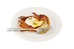 Poached egg Royalty Free Stock Image