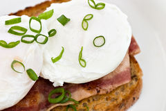 Poached eggs Royalty Free Stock Images