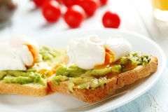 Poached eggs Royalty Free Stock Photography