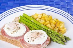 Poached Eggs Series #3 Royalty Free Stock Image