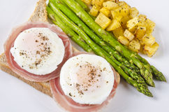 Poached Eggs Series #5 Royalty Free Stock Photo
