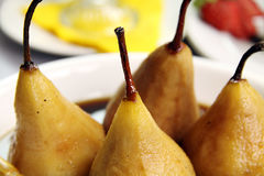 Poached Pears Royalty Free Stock Image
