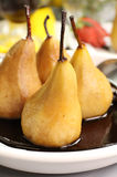 Poached Pears Stock Photo