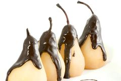 Poached Pears Royalty Free Stock Photos