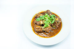 Poached pork spareribs with Honey Royalty Free Stock Photo