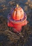 pożarniczego hydranta stara czerwień Obrazy Royalty Free