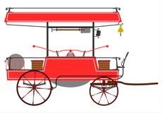 Pożarniczy pumper. Zdjęcia Royalty Free